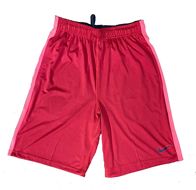a3bc9b113059 Amazon.com  Nike Mens Dri-Fit Fly 2.0 Training Shorts 613599 620 Small  Red Grey Black  Sports   Outdoors