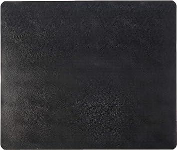 Low Pile Carpet Use CM11442FBLKCOM Deflecto EconoMat Black Chair Mat by Deflecto 46 x 60 Inches Straight Edge Rectangle