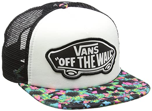 Vans Beach Girl Trucker Hat Gorra de béisbol, Multicolor (Floral ...