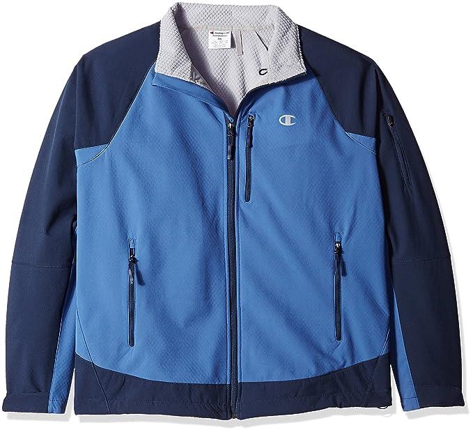 Champion CB2020-chaqueta de chándal Hombre Sea Bottom Blue ...