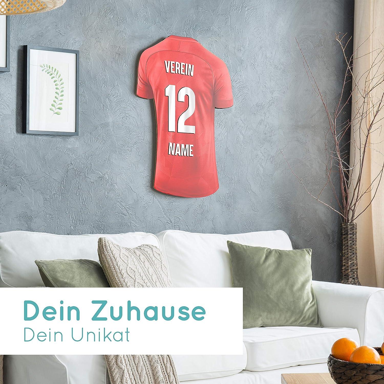 Elbeffekt Trikotlampe f/ür Kaiserslautern Fans aus Holz schenke Dein individuellen Kaiserslautern Fanartikel aus Echtholz personalisierbares Geschenk