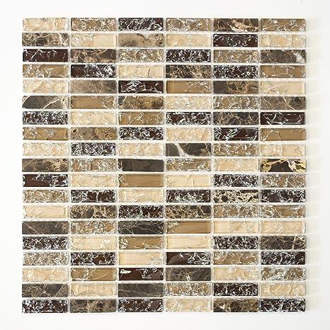Piastrelle Mosaico Vetro Mosaico Mosaico Piastrelle Bagno Cucina ...