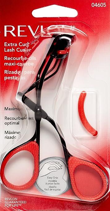 revlon eyelash curler. amazon.com : revlon beauty shapers eyelash curler, extra curl (pack of 3) curler m