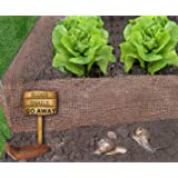 Snail Offence® Copper Mesh Fence Barrier – Protect Plants From Slug And Snail Damage. 99.9% Pure Copper Tape Snail And Slug Barrier For The Best Slug Control Available