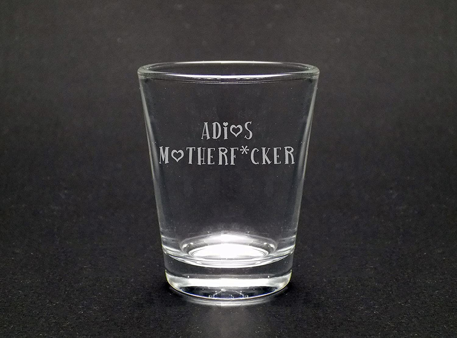 Adios Motherf*cker 1.75 oz Shot Glass