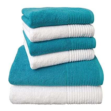 Dyckhoff 0410996430 - Juego de toallas (2 toallas de baño, 70 x 140 cm
