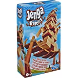 Jenga Bridge Wooden Block Stacking Tumbling Tower Game For Kids Ages 8 & Up, 1 or More Players