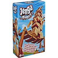Jenga E9462 Bridge Wooden Block Stacking Tumbling Tower Game For Kids Ages 8 & Up, 1 or More Players