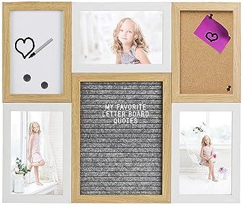Gadgy ® Marcos de Foto, Letter Board, Tablero Corcho y ...