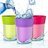 Flavor Enhancing water Cup - Apple, Grape and Berry. Helps you drink more water instead of Soda, Juice and Sugary Drinks. By The Right Cup