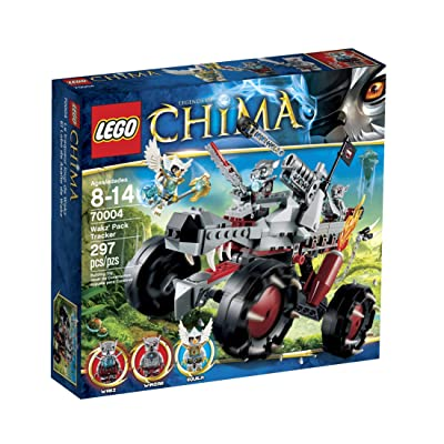 LEGO Chima Wakz Pack Tracker 70004: Toys & Games