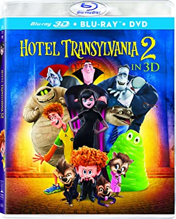 amazon com hotel transylvania 2 3d blu ray blu ray dvd