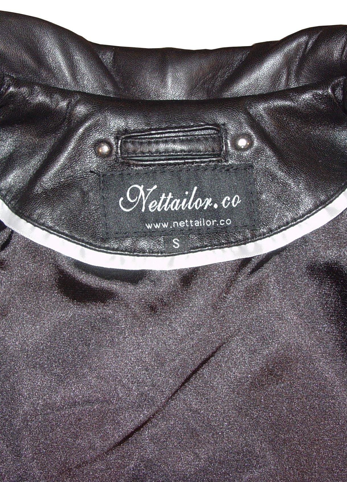 Nettailor Mens 1114 FOUR Season Wearable Leather Fancy Casual Blazer by NETTAILOR (Image #8)