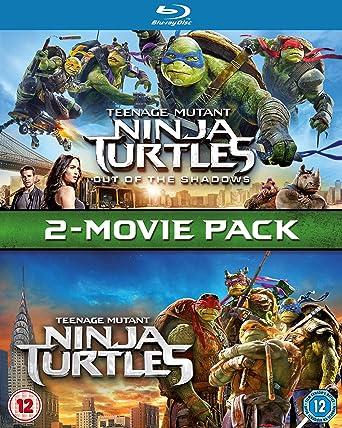 Amazon.com: Teenage Mutant Ninja Turtles 2-Movie Pack (TMNT ...
