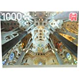 Jumbo - Sagrada Familia, Barcelona, puzzle de 1000 piezas (618567)
