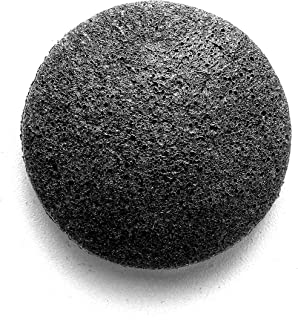 product image for Rustic MAKA Cleanse Activated Charcoal Konjac Sponge, Cleansing + Gentle Exfoliation