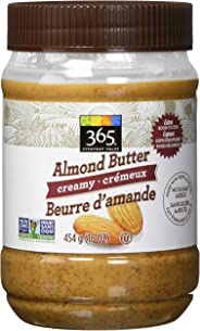 365 Everyday Value Creamy Almond Butter, 454 g