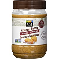 365 Everyday Value Creamy Almond Butter, 454 g
