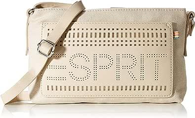 Esprit Accessoires 040ea1o325, Bandolera para Mujer, beige, Talla única