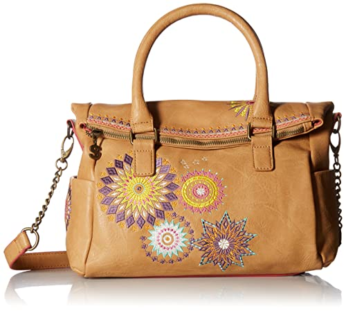 Loverty Desigual Y esZapatos Amelie Mujer Bolso UAmazon Camel vY7gIfby6