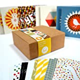 Bright Stem 24 Small Notecards/Thank You Cards Mixed Pack