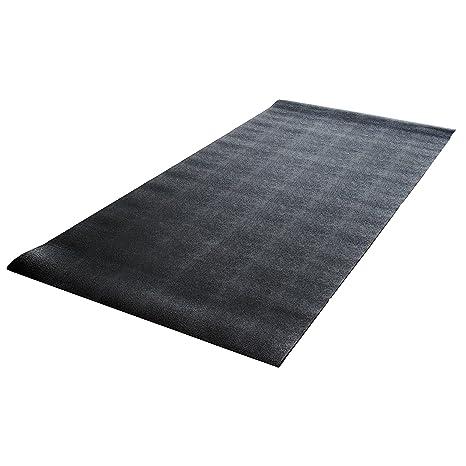 Amazon.com : Cap Solid PVC Mat for Treadmill (3-Feet x 6.5-Feet) : Exercise Mats : Sports & Outdoors