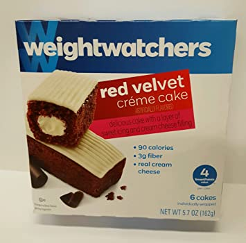 Image Unavailable Not Available For Color Weight Watchers Red Velvet Creme Cakes