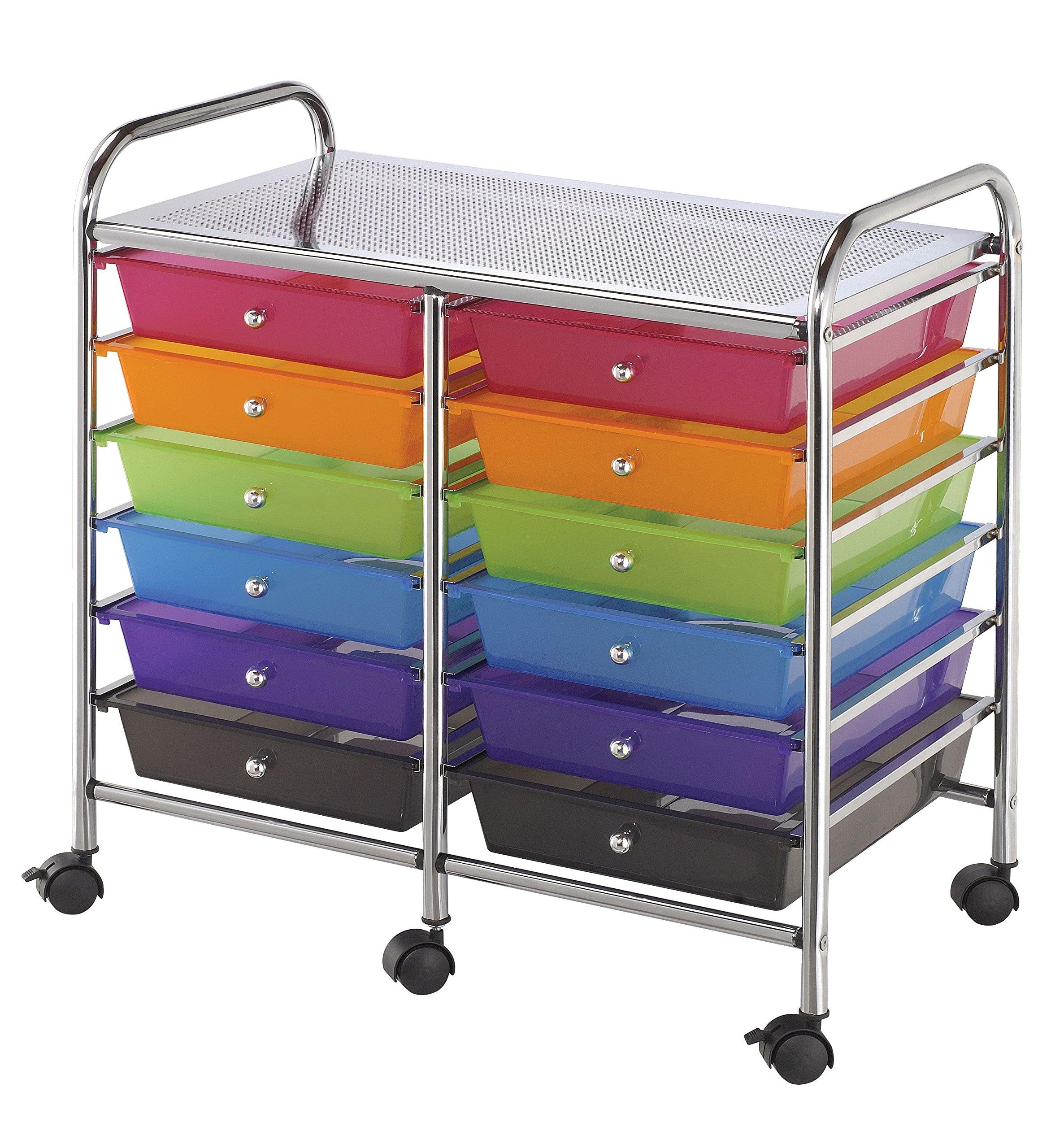 Storage CART 12 DWR Multicolor by Alvin