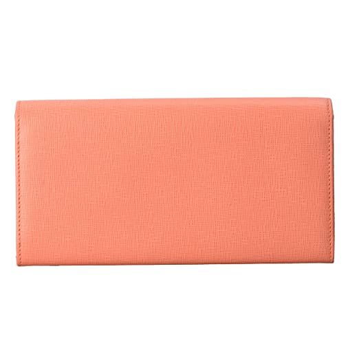 1e719f5c4f Fendi Women's Pink Saffiano Leather Continental Crayons Wallet at ...