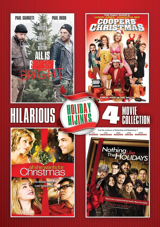 Amazon.com: Holiday Hijinks 4 Dvd Set: Paul Giamatti, Paul Rudd ...