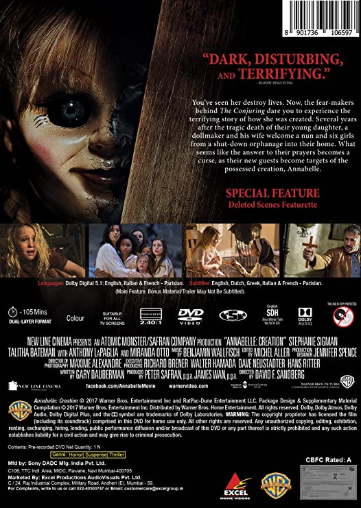 Annabelle: Creation (English) part 2 download in hindi