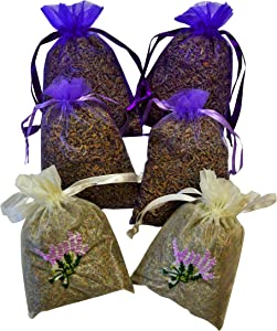 Manu Home Lavender Sachets ~ Lavender Stems