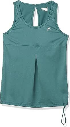 HEAD Women's Herringbone Blouson Tank Shirt