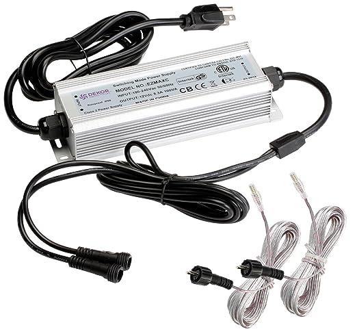outdoor waterproof 100 watt transformer ezmax 100w waterproof