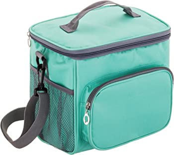 Msicyness Insulated Large Cooler Unisex Lunch Box