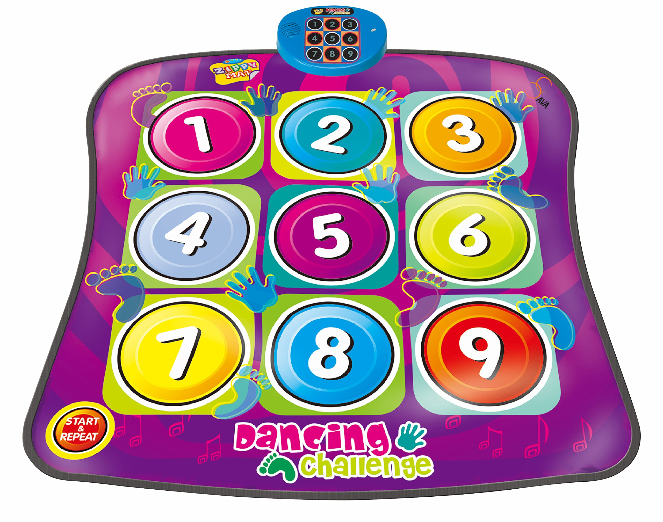 SAVA Touch Sensitive Dancing Challenge Rhythm and Beat Play Mat - Ages 3+