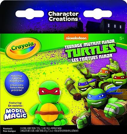Crayola Teenage Mutant Ninja Turtles Model Magic Character ...