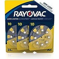 RAYOVAC Size 10 Hearing Aid Batteries, 24-Pack, L10ZA-24ZMB