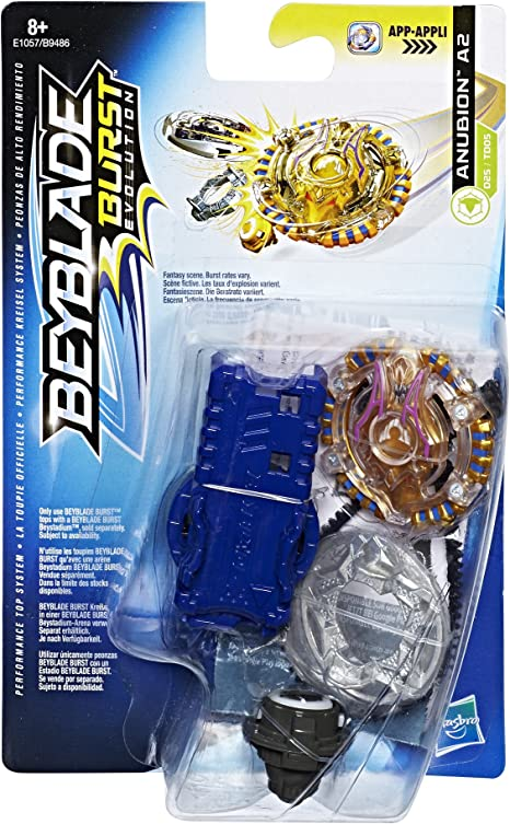 Beyblade A2 Anubion Juguete Starter Pack, Multicolor (Hasbro E1057 ...