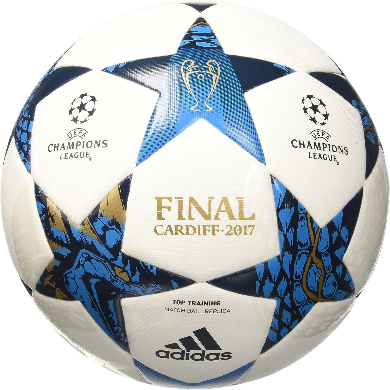 adidas CDF TT Balón Final Cardiff 2017, Hombre, Blanco, 4: Amazon ...