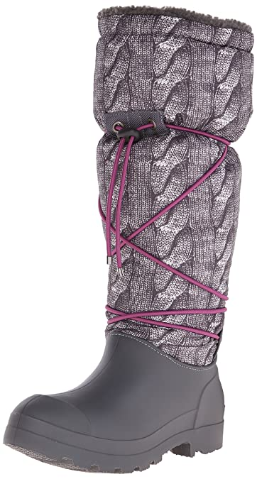 Dirty Laundry by Chinese Laundry Women's Piece O Cake Boot, Dark Grey  Nylon, 7