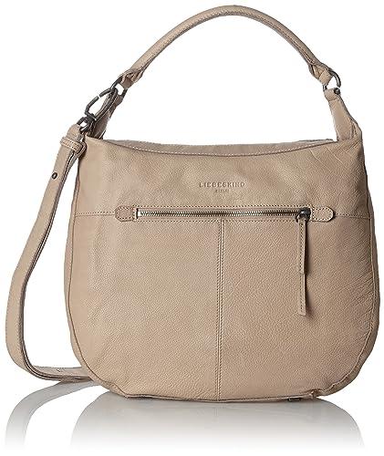 62bd28b49c Liebeskind Berlin Women's Pazia7 Vintag Shoulder Handbag, Brown (Stone L  8527), UK