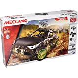 Erector by Meccano, Motorized Mountain Rally Vehicle, 25 Model Building Set, 407 Pieces, for Ages 9+, STEM Construction…