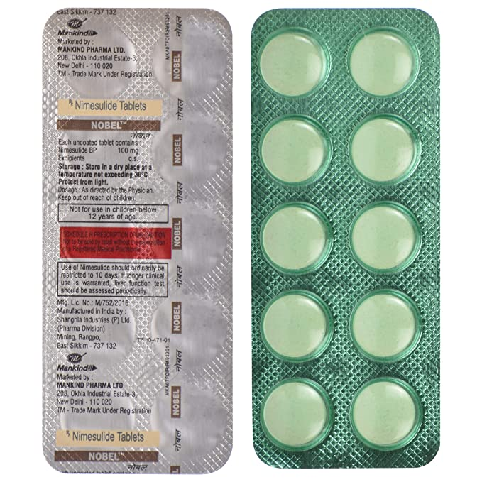Nobel - Blister Pack of 10 Tablets: Amazon.in