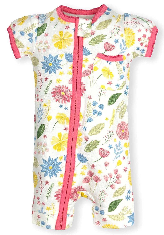 f401d3757324 Amazon.com  Frugal Organics Zipper Romper Short Sleeve Sizes NB- 24M ...