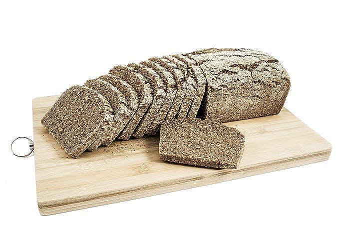 Pan con masa madre en panificadora