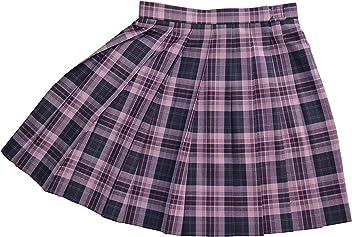 KR380 濃紺×ピンク W60・63・66・69・72 丈42・48cm KURI-ORI[クリオリ]スリーシーズンスカート seifuku skirt