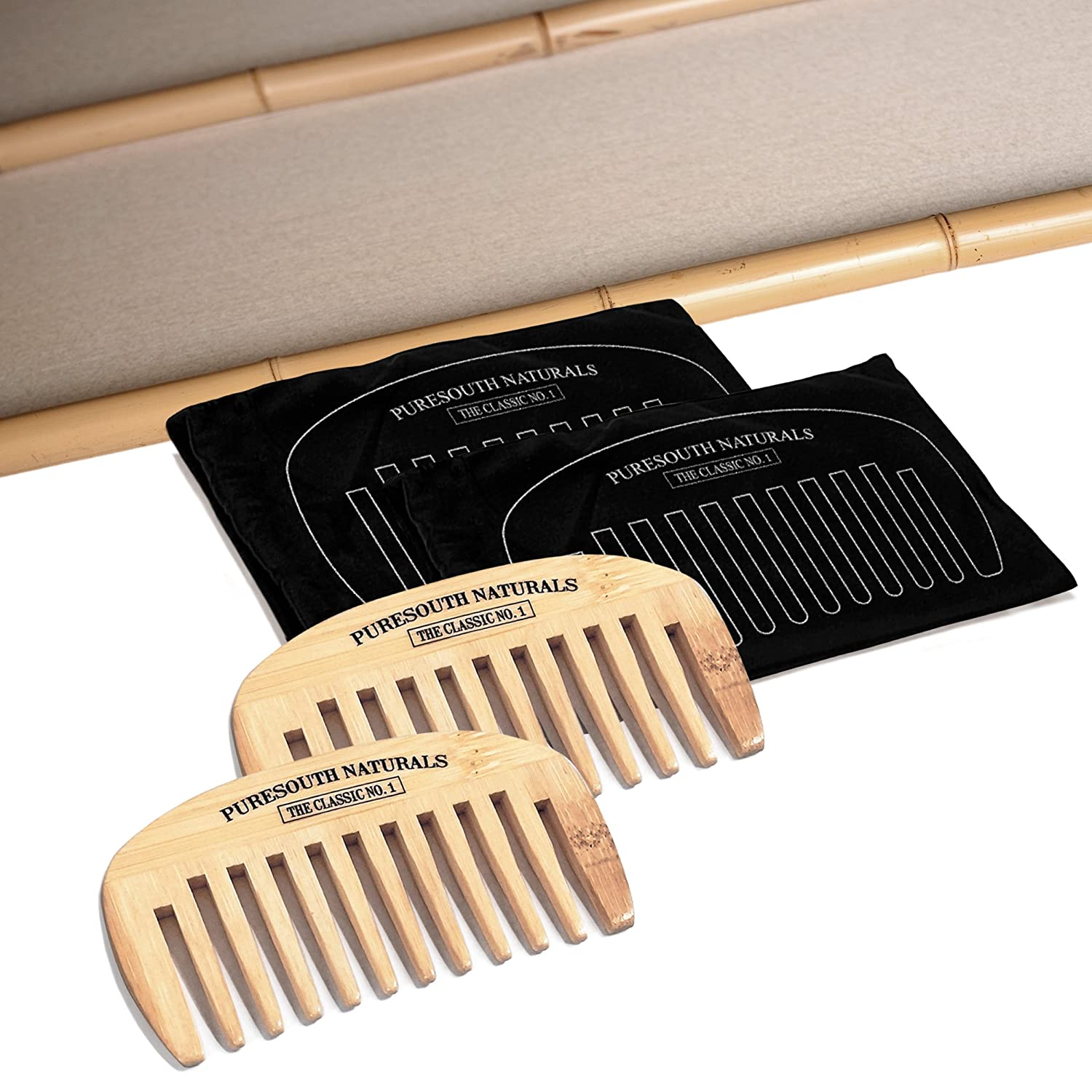 My Best Beard Wide Tooth Bamboo Comb