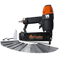 WEN 61721 18-Gauge 3/8-Inch to 2-Inch Pneumatic Brad Nailer with 2000 Nails