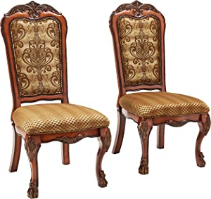 ACME 12154 Set of 2 Dresden Arm Chair